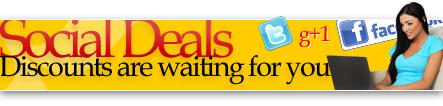 social deals and specials